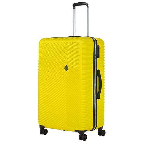 CarryOn Air Valise de voyage souple Grand valise 77cm avec serrure TSA Noir