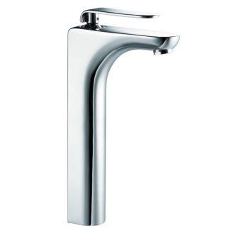 mitigeur de lavabo haut robinet pour vasque design en laiton chrome robinetterie achat prix fnac - Mitigeur Haut Vasque