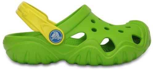 Crocs enfants swiftwater sabots <strong>chaussures</strong> sandales en volt vert lemon 202607 3q5