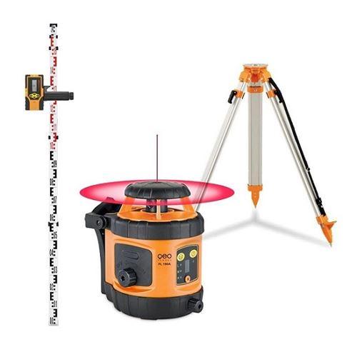 Pack laser rotatif automatique horizontal portée 400m FL 190A + trépied + mire GEO FENNEL 292190-S01