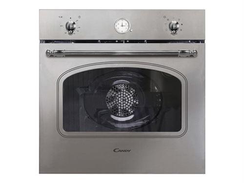 Candy Classic FCC604X - Four - intégrable - niche - largeur : 56 cm - profondeur : 55 cm - hauteur : 58 cm - classe A+ - acier inoxydable