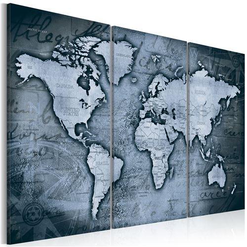 Tableau - Cobalt Travels - Décoration, image, art | Cartes du monde |