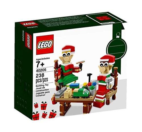 Lego edition speciale 40205 l'atelier des petits lutins de noel