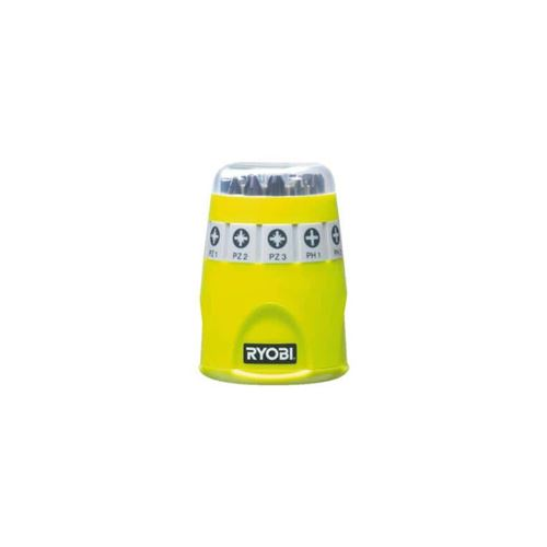 Barillet RYOBI 10 accessoires de vissage RAK10SD