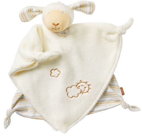 Fehn couverture câline crème de mouton 25 cm