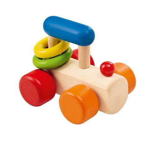Selecta Spielzeug anneau d'accrochage Train Rollinajunior 8,5 cm bois
