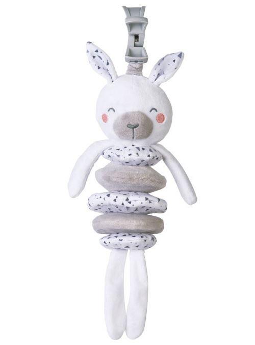 Saro figure suspendue Lapin Wild Colors polyester blanc