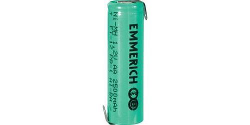 Accu NiMH Emmerich R6 2 500 mAh FT-1Z
