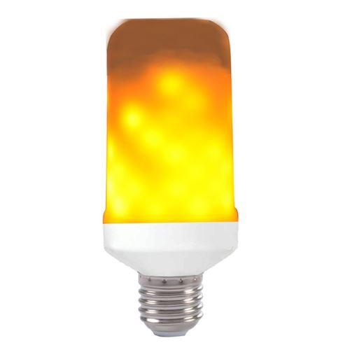 Paris Prix - Ampoule Led Décorative flamme 13cm Orange