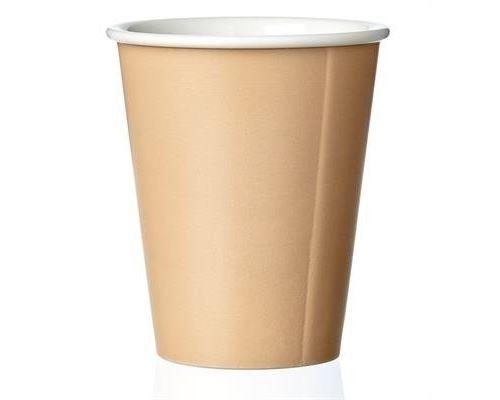 Viva scandinavia tasse en porcelaine laura warmsand - porcelaine - 20 cl - beige 9102215