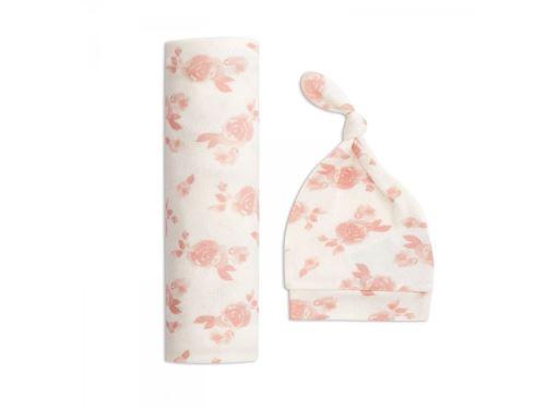 Aden and Anais - aden + anais coffret cadeau maxi-lange maile cosy rosettes (taille unique)