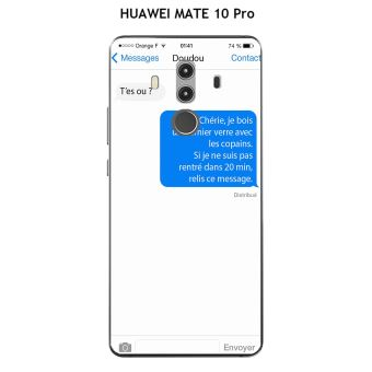 huawei mate 10 pro coque bois