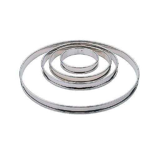 Cercle à tarte inox 280mm matfer