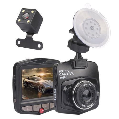 Double Caméra Voiture Platyne Noir - AC 165
