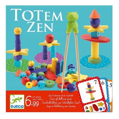 Totem zen 2-4 joueurs - djeco - jeu d'adresse des 6 ans