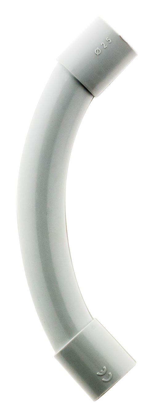 2 courbes IRL Ø25mm Gris
