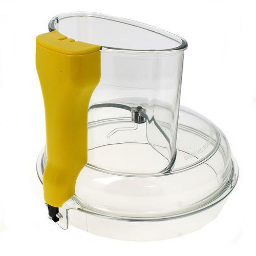 Couvercle bol xl jaune pour Robot Magimix