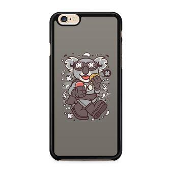 Coque Iphone 4 4S Super Koala Bords Noirs