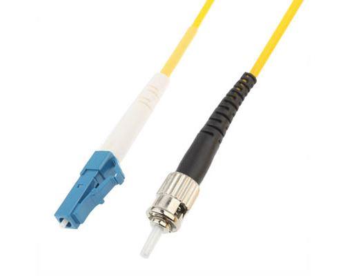 (#26) LC-ST Single-Core Single Mode Fiber Optic Jumper,Length: 3m