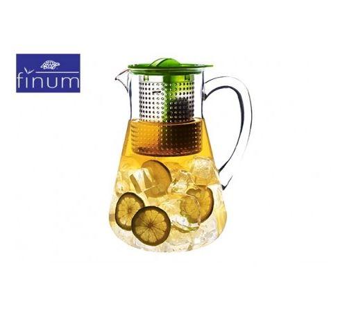 FINUM Théière Ice Tea Control Vert 1.8 L
