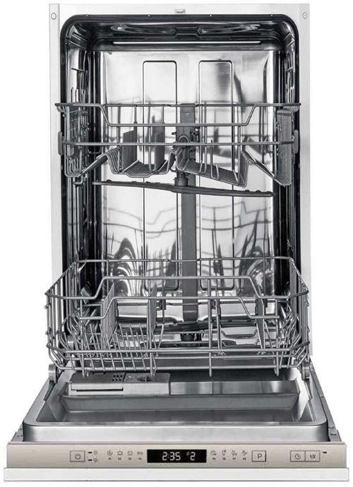 Amica ADF0912X - Lave-vaisselle - intégrable - largeur : 44.8 cm - profondeur : 55 cm - hauteur : 81.5 cm