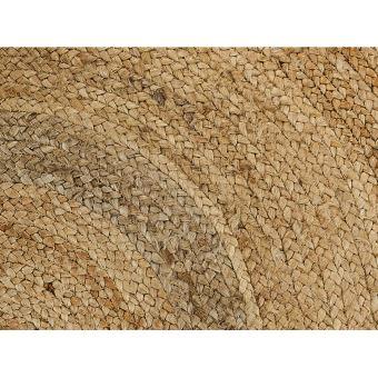 Tapis Rond Jessore 100 Jute D 120 Cm Naturel Achat