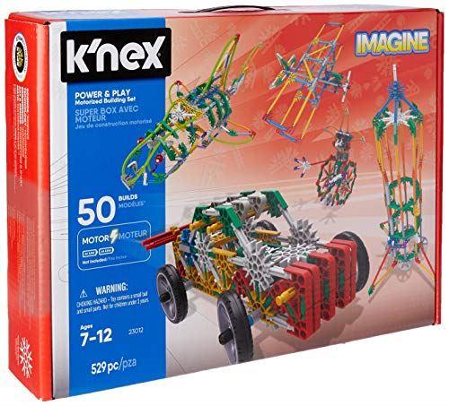 KNEX Imagine Jeu de construction motorisé Power and Play 529 pièces 7 ans et plus Jouet éducatif de construction