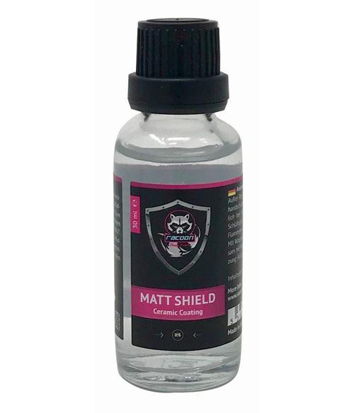 Racoon protection de la laque Joint Matt Shieldcéramique 30 ml noir/rose