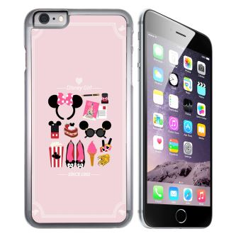 Coque pour iPhone 8 PLUS disney girl