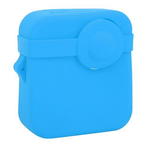Boîtier de Caméra en Silicone pour Gopro Max Caméra d'Action Panoramique - Bleu