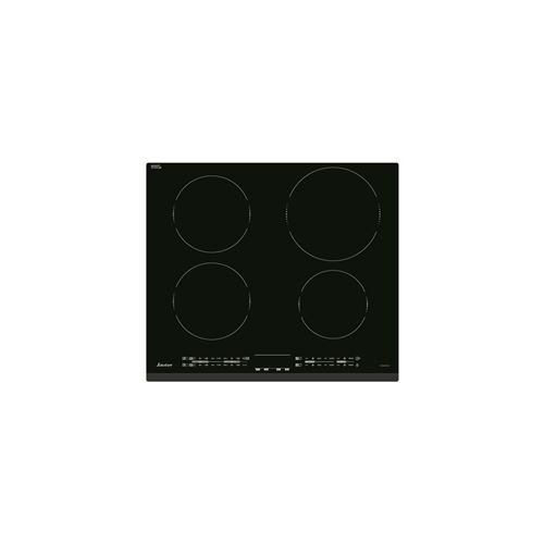 Sauter SPI4462B - Table de cuisson à induction - 4 plaques de cuisson - Niche - largeur : 56 cm - profondeur : 49 cm - noir