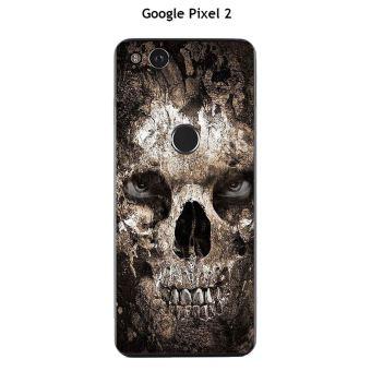 Coque Google Pixel 2 Design Tete De Mort 2 Etui Pour
