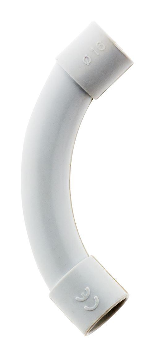 2 courbes IRL Ø16mm Gris