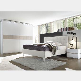 Chambre adulte moderne MARISSA - L 180 x P 200 cm