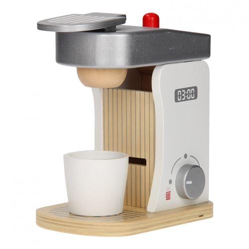 Jouéco une machine à café en bois de 18 cm 8 parties