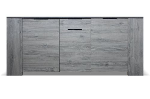 Chloé Design - Buffet design ROXY - Bois - 2 portes