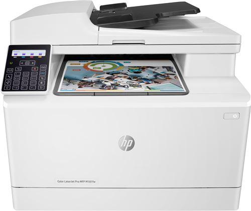 Imprimante Laser HP Color LaserJet Pro MFP M181fw Blanc