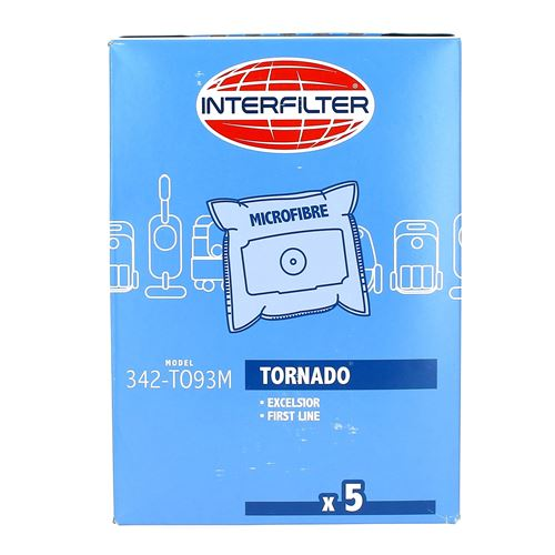 Sacs aspirateur par 4 microfibres pour Aspirateur Tornado