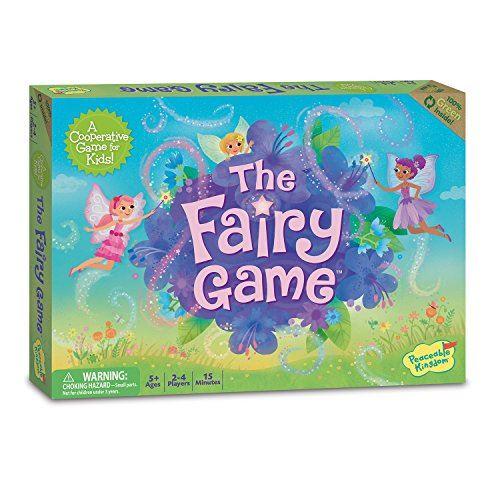 Peaceable Kingdom The Fairy Game Award Jeu coopératif de logique et de chance pour les enfants