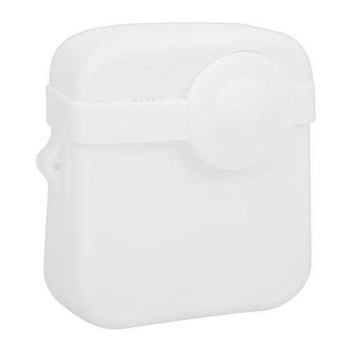Boîtier de Caméra en Silicone pour Gopro Max Caméra d'Action Panoramique - Blanc