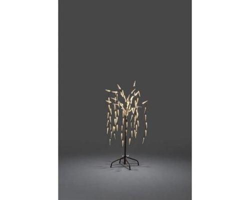 Arbre LED saule pleureur KonstsmideLED blanc chaud