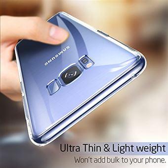 ESR Coque pour Samsung Galaxy S8 Plus, Coque Transparente Silicone Gel TPU Souple, Housse Etui de Protection Bumper Premium [Anti Choc] [Ultra Fine] ...