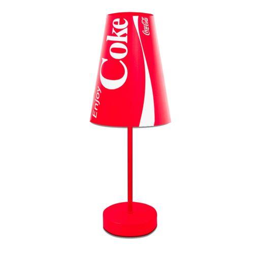 Petite lampe Coca-cola rouge