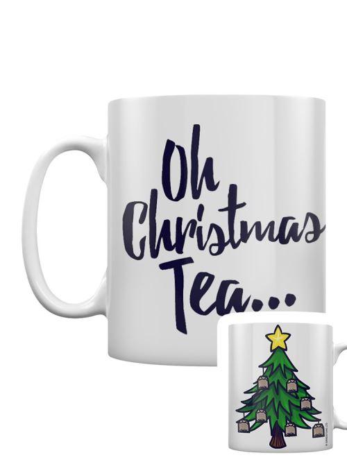 Tasse Oh Christmas Tea blanc