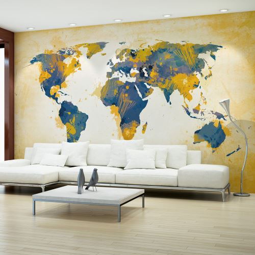 Papier peint | Map of the World | Sun and sky | 450x270 |