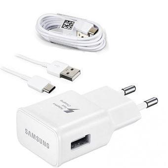 Samsung Adaptateur Chargeur rapide + Type C Câble pour