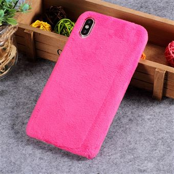 coque iphone xs fourrure