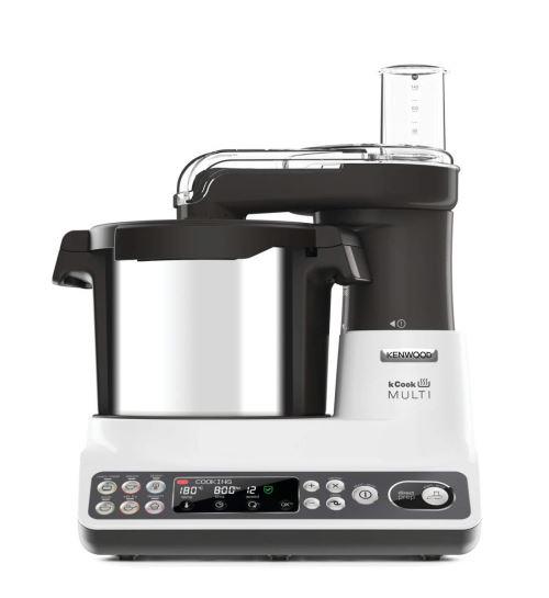 Kenwood CCL401WH Robot- Kcook Multi Noir 4.5 Litre, 500 W [Classe énergétique A]