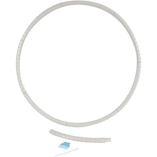 Creotime cadre de tissage rond junior 88 cm blanc 10 pièces