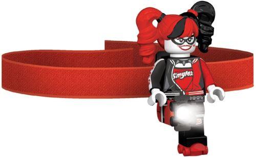 LEGO Lampe frontale Batman: Harley Quinn 7 cm rouge